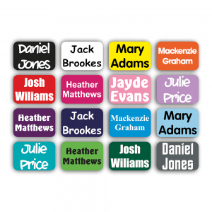 Stick On Name Labels